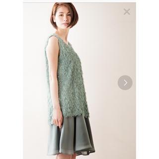 アミウ(AMIW)の最終値下げ 美品 AMIW アミウ シャギーワンピース ドレス(ひざ丈ワンピース)