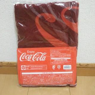コカコーラ(コカ・コーラ)のコカ・コーラマイクロファイバービーチタオル(レッド)(タオル)