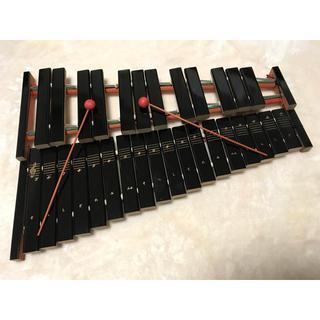ヤマハ(ヤマハ)のrion様専用  ヤマハ 卓上木琴 185 (楽器のおもちゃ)