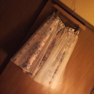 リズリサ(LIZ LISA)のマイメロ♡チュール(ひざ丈スカート)