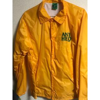 アンチヒーロー(ANTIHERO)のantihero アンタイヒーロー  コーチジャケット 黄色(ナイロンジャケット)