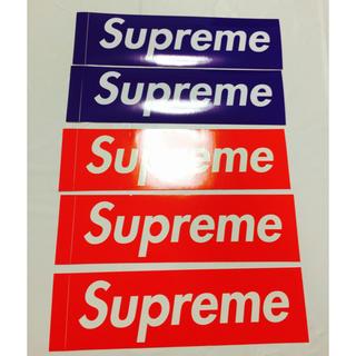 Supreme - 新品Supreme Boxlogo ステッカー赤&紫5枚セット正規品 送料無料