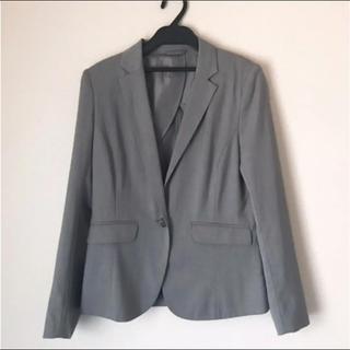 ジーユー(GU)の未使用 GU グレー スーツ セットアップ(スーツ)