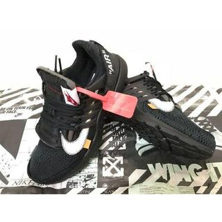 オフホワイト(OFF-WHITE)の27cm NIKE AIR PRESTO OFF-WHITE BLACK (スニーカー)