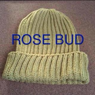 ローズバッド(ROSE BUD)のrosebud ビーニー(ニット帽/ビーニー)