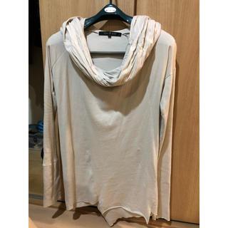 ノーアイディー(NO ID.)のNOID ドレープフーデットカットソー(Tシャツ/カットソー(七分/長袖))
