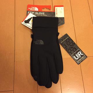 ザノースフェイス(THE NORTH FACE)のザノースフェイス グローブ ブラック ユニセックス Lサイズ 新品(手袋)
