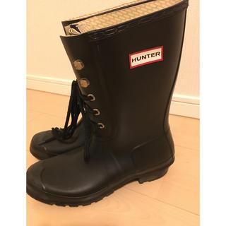 ハンター(HUNTER)のHUNTER メンズ レインブーツ UK7 26cm(長靴/レインシューズ)