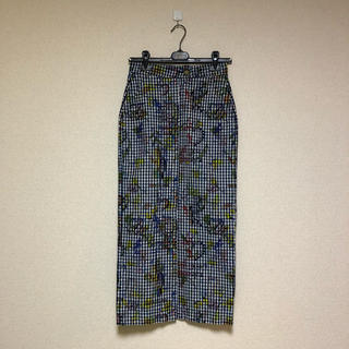 ヴィヴィアンウエストウッド(Vivienne Westwood)の♡専用♡サンキュープリント ロングスカート(ロングスカート)