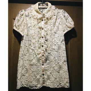 ロイスクレヨン(Lois CRAYON)のロイスの美品ブラウス タイムセール(シャツ/ブラウス(半袖/袖なし))