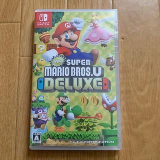 Nintendo Switch - 未開封 New スーパーマリオブラザーズ U デラックス