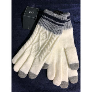 ニジュウサンク(23区)の23区  手袋  新品、タグ付き(手袋)