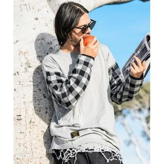 グラム(glamb)のglamb Monoton Damaged CS(Tシャツ/カットソー(半袖/袖なし))