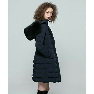 ダブルスタンダードクロージング(DOUBLE STANDARD CLOTHING)の新品 定価7万 ダブルスタンダード SOV FOXファー ダウンコート ダブスタ(ダウンコート)
