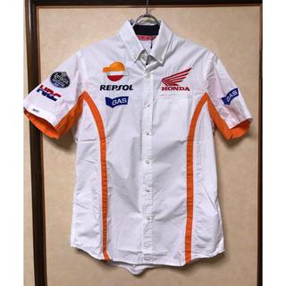 ガス(GAS)のGAS HONDA レーシングシャツ Sサイズ新品(Tシャツ/カットソー(半袖/袖なし))