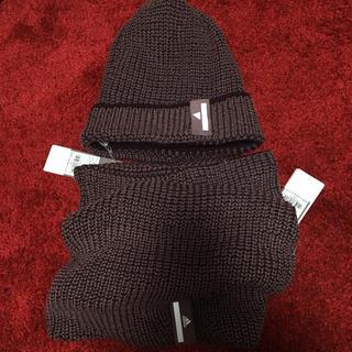アディダス(adidas)のネックウォーマー ニット帽(ニット帽/ビーニー)
