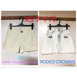 ロデオクラウンズワイドボウル(RODEO CROWNS WIDE BOWL)のレディースブランド ショートパンツ&ミニスカート (セット/コーデ)