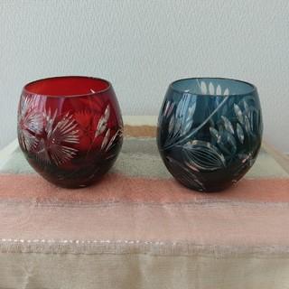 トウヨウササキガラス(東洋佐々木ガラス)のキリコ ペア フリーグラス(グラス/カップ)