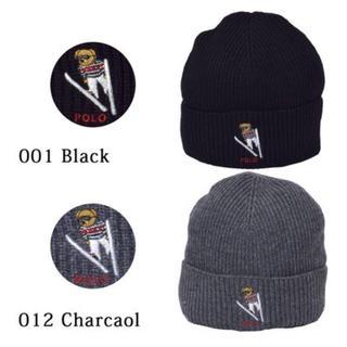ラルフローレン(Ralph Lauren)のpolo ポロベア ニット帽(ニット帽/ビーニー)