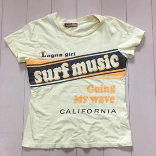 Tシャツ サーフ レディースMサイズ ロゴ(Tシャツ(半袖/袖なし))