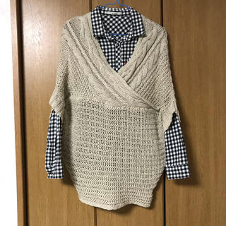 ショコラフィネローブ(chocol raffine robe)のニット セーター(ニット/セーター)