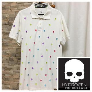 ハイドロゲン(HYDROGEN)のハイドロゲン ☆ ポロシャツ ☆ ホワイト(ポロシャツ)