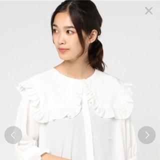 ダブルシー(wc)のwc ビックフリルシャツ(シャツ/ブラウス(長袖/七分))