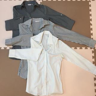 オリヒカ(ORIHICA)のORIHICA レディース 開襟シャツ 3枚組 セット売り(シャツ/ブラウス(長袖/七分))