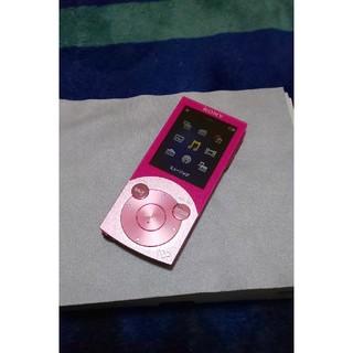 ウォークマン(WALKMAN)のSONY WALKMAN NW-S664 8GB ピンク(ポータブルプレーヤー)