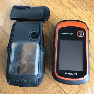 ad2e3d8118 ガーミン(GARMIN)のGRAMIN eTrex 20x 日本語 +専用ケース(登山用品