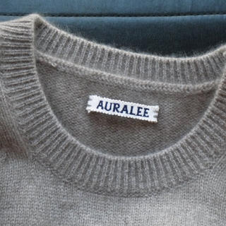 1LDK SELECT - AURALEE BABY CASHMERE KNIT P/O