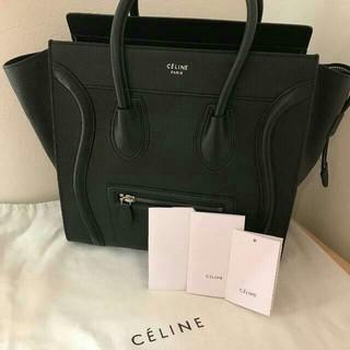 celine - CELINE セリーヌ ラゲージ ミニショッパー極美品