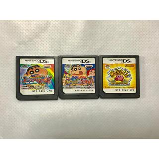 ニンテンドーDS(ニンテンドーDS)のDS  ソフト 3点セット(携帯用ゲームソフト)