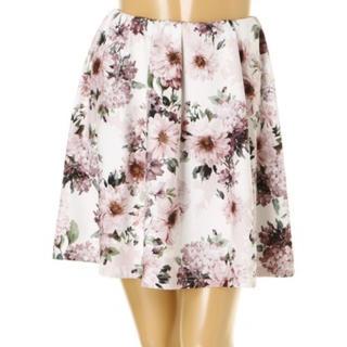 デイライルノアール(Delyle NOIR)の花柄スカート(ミニスカート)