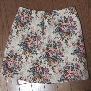 ジーユー(GU)のGU ♡ ゴブランミニスカート(ミニスカート)