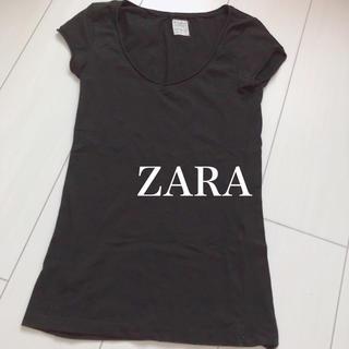 ザラ(ZARA)のZARA シンプルTシャツ(Tシャツ(半袖/袖なし))