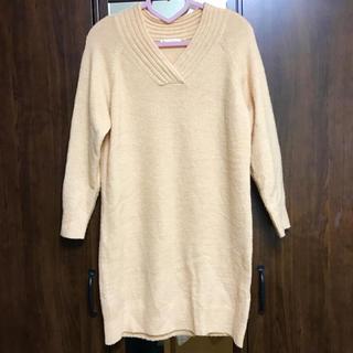 ショコラフィネローブ(chocol raffine robe)のchocol raffine robeのニットワンピース(ひざ丈ワンピース)