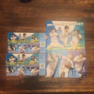 サイタマセイブライオンズ(埼玉西武ライオンズ)の西武ライオンズ チケット引換券 ( 2枚 )(野球)