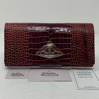 ヴィヴィアンウエストウッド(Vivienne Westwood)の未使用☺︎Vivienne Westwood 長財布 DEVON クロコ オーブ(財布)