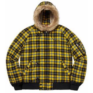 Supreme - 【黄 M】Supreme Wool N-2B Jacket