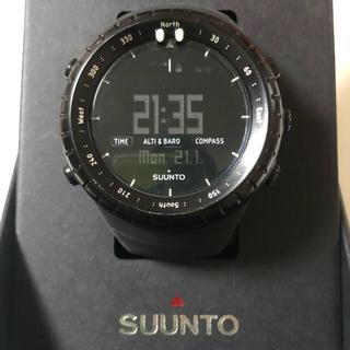 スント(SUUNTO)のゆうさんSUUNTO CORE ALL BLACKスント コア オールブラック(腕時計(デジタル))