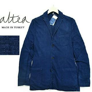 アルテア(ALTEA)のトルコ製 アルテア【Altea】インディゴ染め 3B ジャージージャケット (テーラードジャケット)