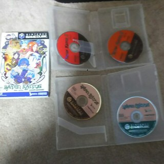 ニンテンドーゲームキューブ(ニンテンドーゲームキューブ)のGCソフト バテンカイトス1、2セット(家庭用ゲームソフト)