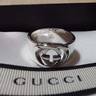 グッチ(Gucci)のてて様専用★ 2月10日購入GUCCI インター ロッキング リング 22号表記(リング(指輪))