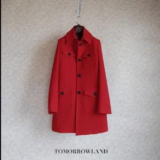 TOMORROWLAND - 超高級 美品 トゥモローランド おしゃれモダンコート TOMORROWLAND
