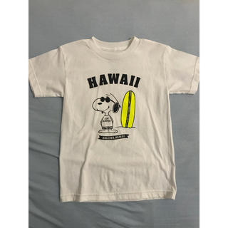 スヌーピー(SNOOPY)のスヌーピー hawaii Tシャツ リップクリーム付き(Tシャツ(半袖/袖なし))