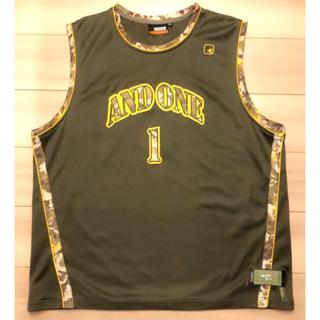 アンドワン(And1)のバスケ ゲームタンク AND1 MIX tape 2004yモデル(バスケットボール)