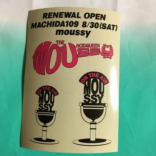 マウジー(moussy)のステッカー マウジー moussy(その他)