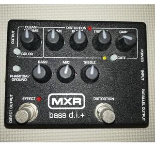 MXR M80 Bass D.I.+(ベースエフェクター)