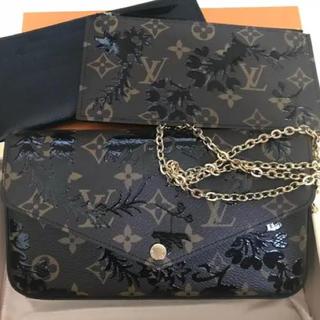 c856900d61d5 ルイヴィトン(LOUIS VUITTON)のルイヴィトン フェリーチェ ブロッサム チェーン財布 美品(